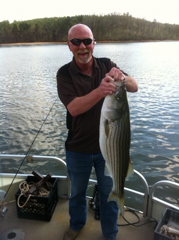 fishsing reports for lake hartwell and lake jocassee